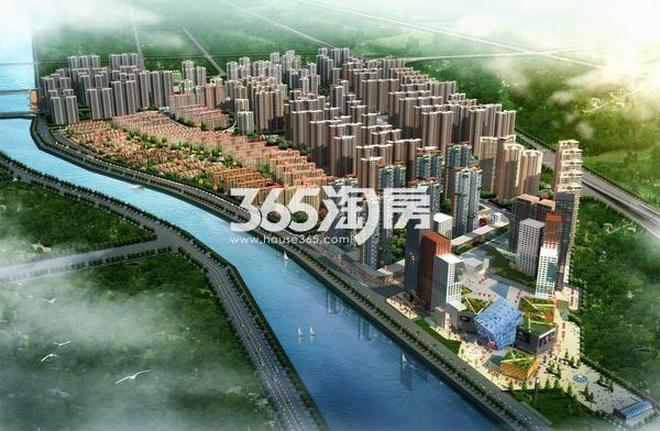 御锦城鸟瞰图