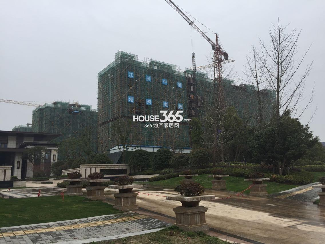 高科荣境楼栋施工实景图(3.18)
