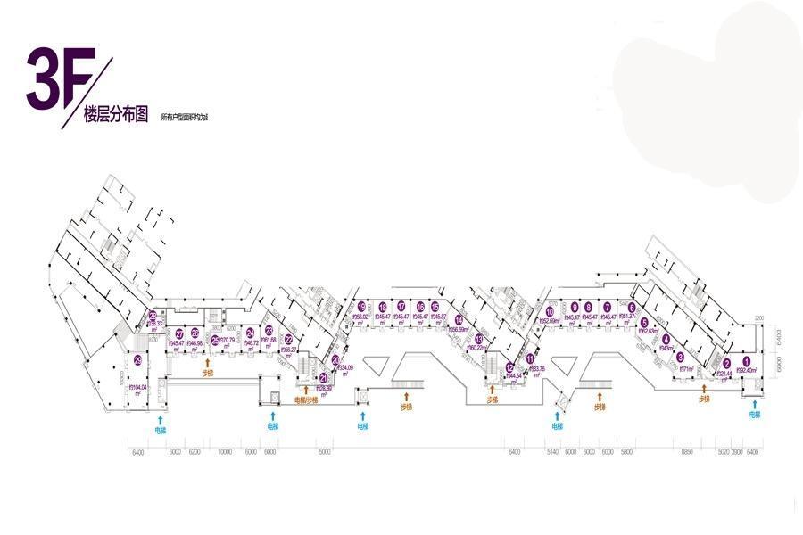 中海紫金汇户型图