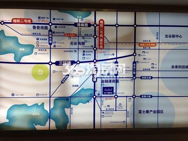 当代国际城交通图