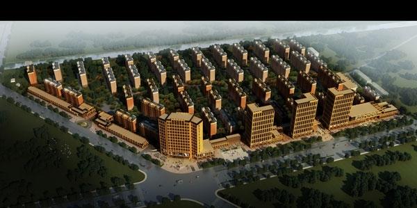 中江·电商港鸟瞰图