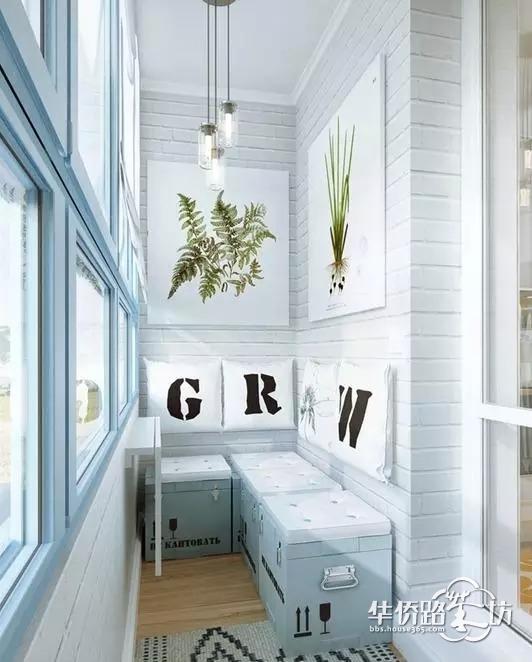 【家裝巧設計】各種尺寸的陽臺設計方案