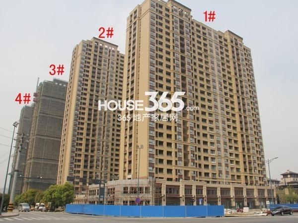 路劲城1-4#楼工程进度图(2015.4)