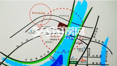 丰泰卡地亚湾交通图