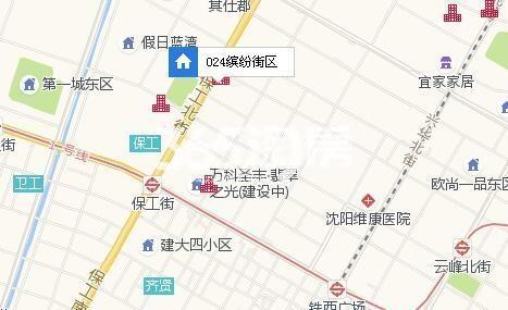 024缤纷街区交通图