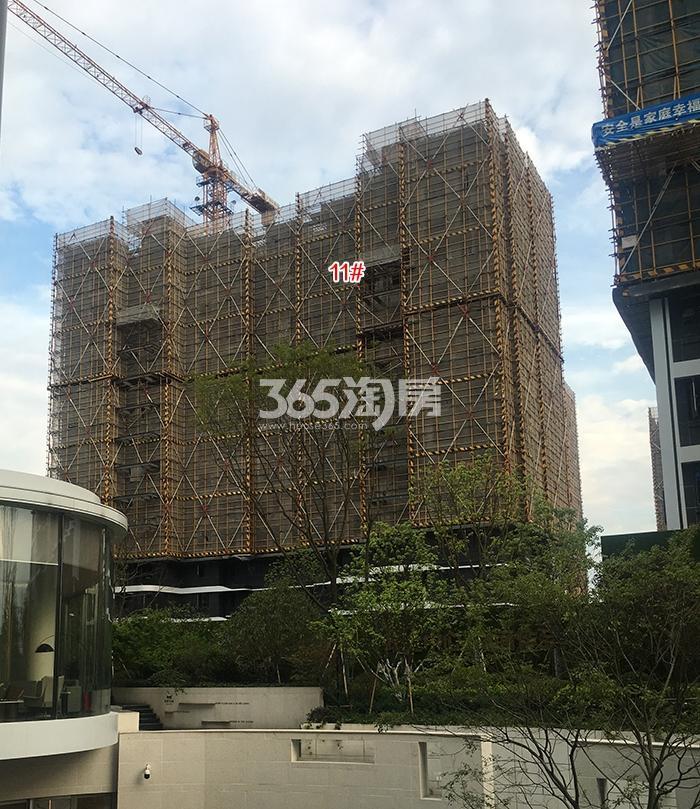阳光城未来悦11号楼施工进程(2018.5)