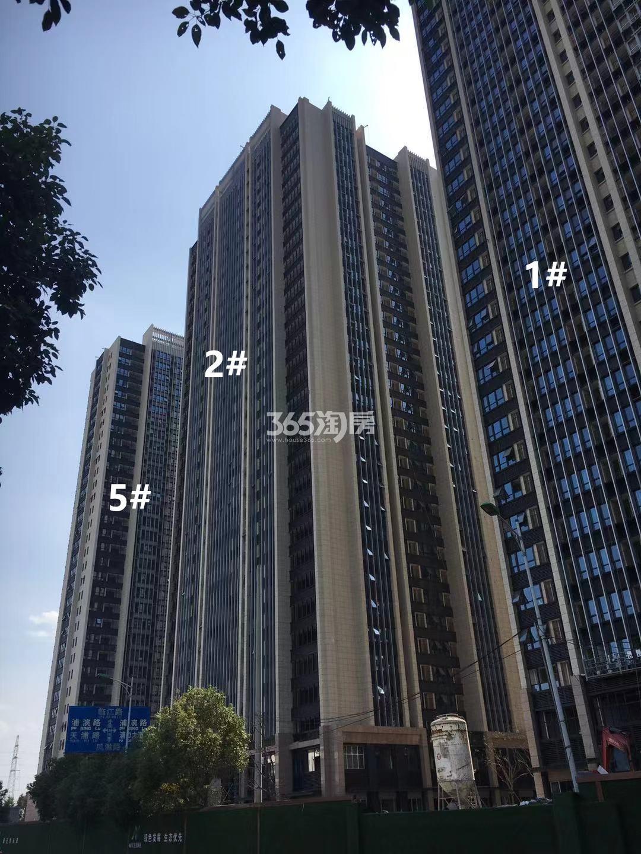 明发财富中心1、2、5号楼实景图(11.25)