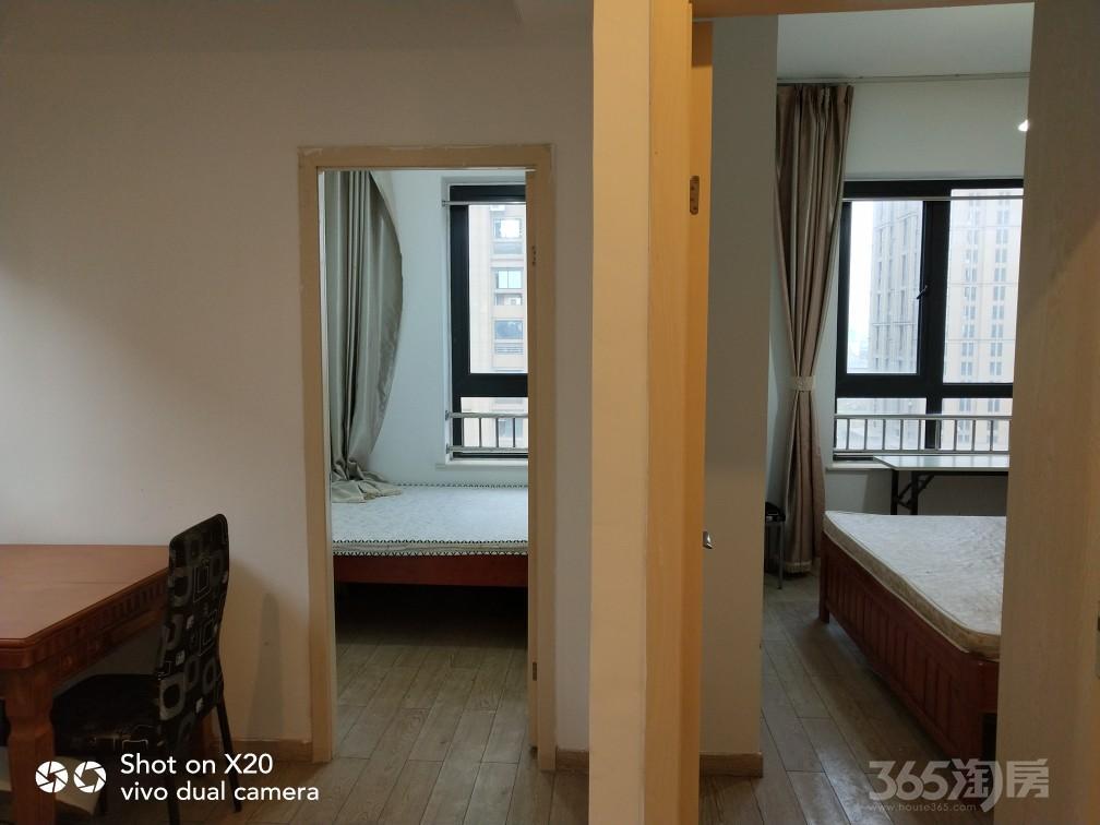 创美华彩国际2室1厅1卫50平米整租精装