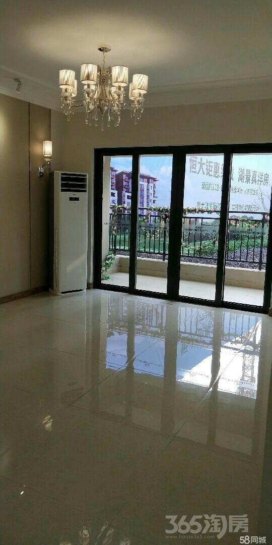 恒大翡翠华庭3室2厅2卫120平米2017年产权房精装