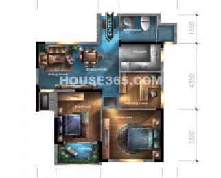 柏庄观邸-精装2房-业主诚售-双学区-好地段好位置