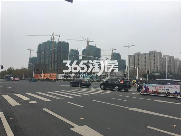 海玥名都施工实景图(12.25)