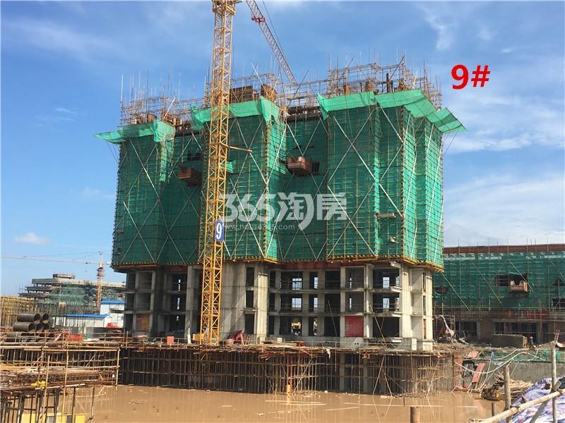 鱼先生的社区9#已建至10层(8.14)