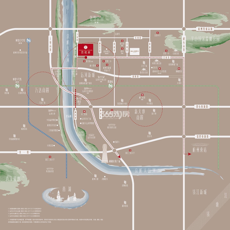 金航府交通图