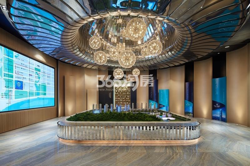 绿地天空树超级碗售楼处实景(2018.5摄)