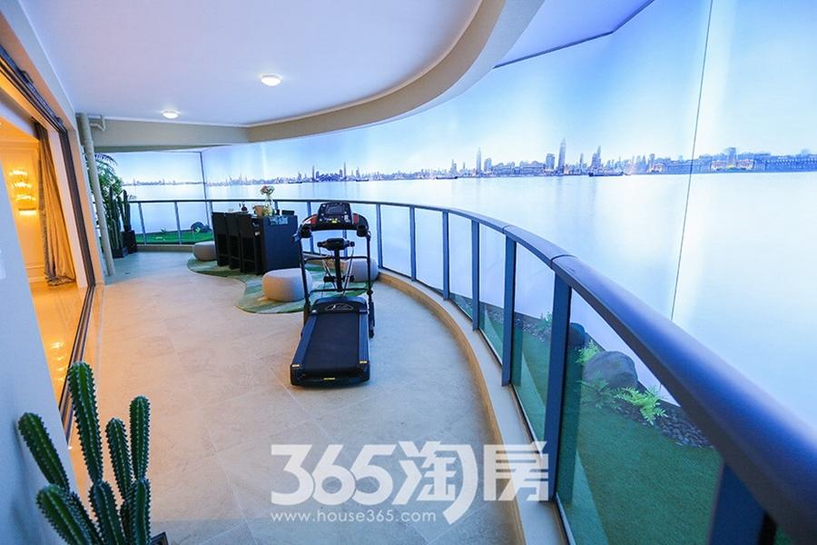 伟星长江之歌二期天誉江川约270㎡样板间-阳台