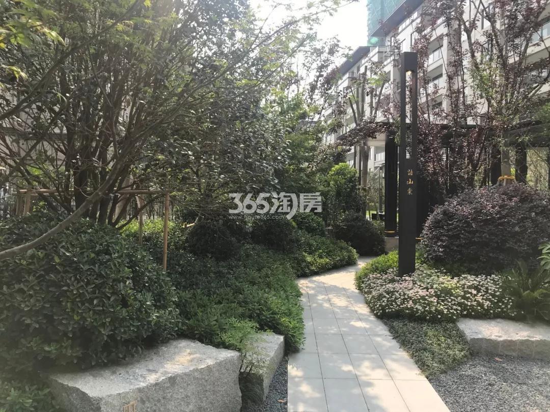 江山大境绿化景观实景图(9.29)