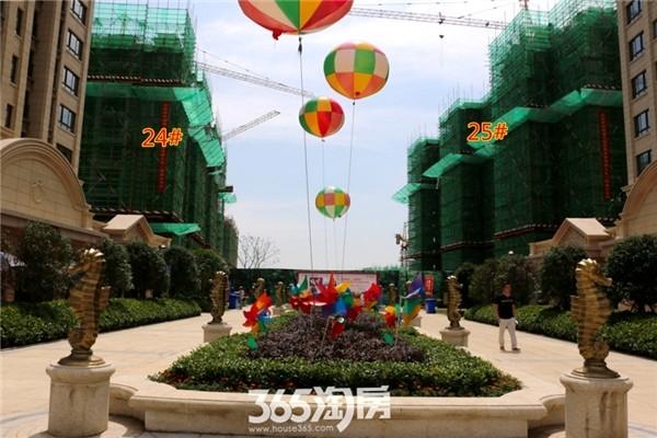 新华联梦想城24#、25#工程进度(2016年7月摄)