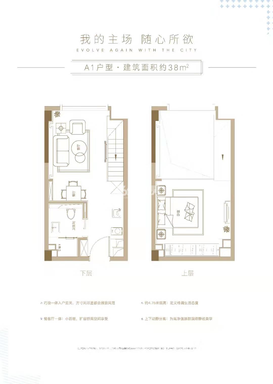 杭州世茂泰禾中央广场户型图