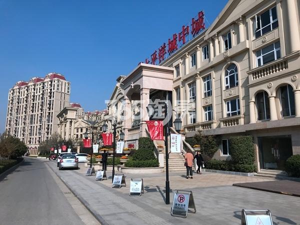 太平洋城中城营销中心实景(2017.11)