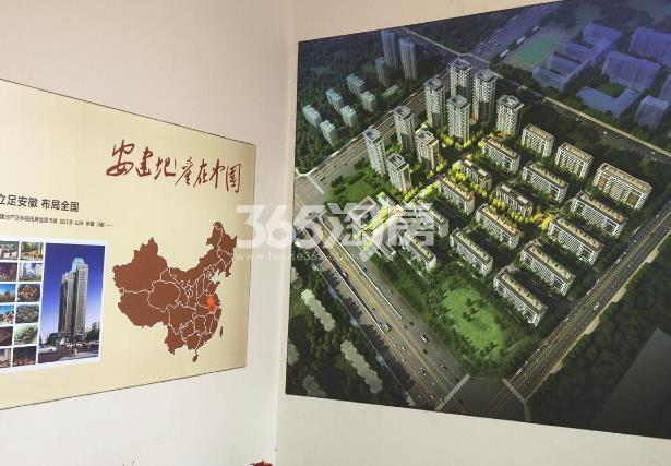 安建翰林天筑售楼部项目展示实景图(2017.11.7)