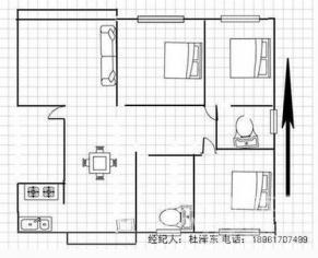 新丰苑 3室南北通透学区房无税超低价出售