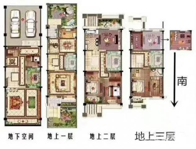 紧急抛售 龙虎塘九洲花园一期别墅 豪华装修 品牌家具家电全送