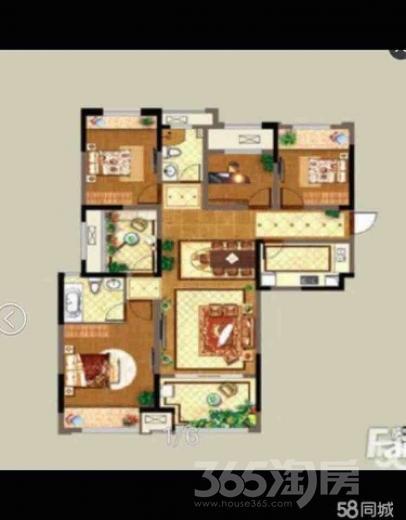 万达中央华城5室2厅2卫