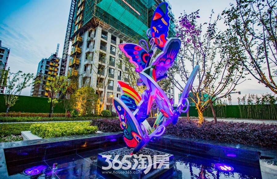 伟星天玺环境实景图(2018.6摄)