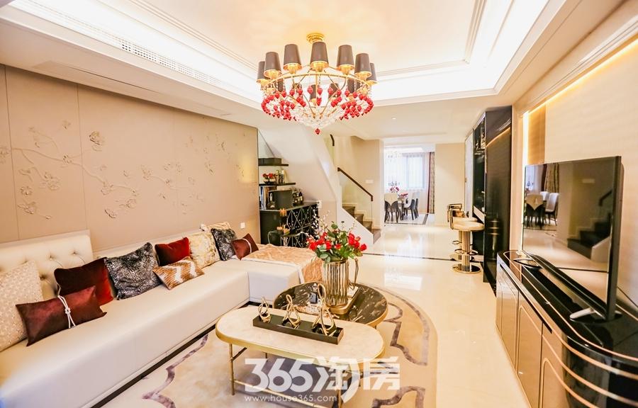 伟星天玺面积约140平样板间-一楼客厅