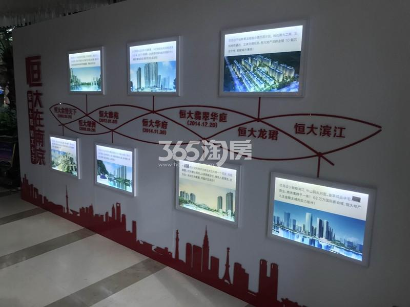 恒大滨江项目售楼处内展示(6.5)