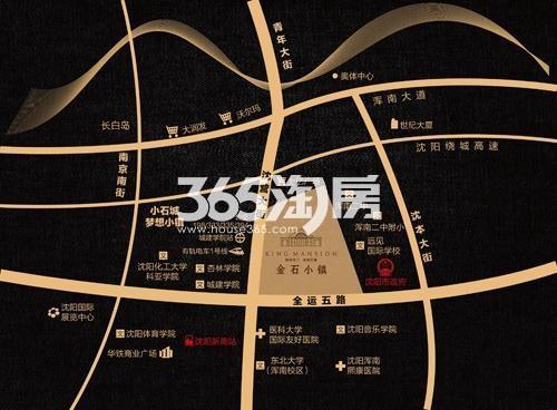 金石小镇交通图