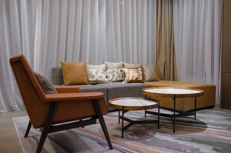 阳光100喜马拉雅D户型样板间-客厅