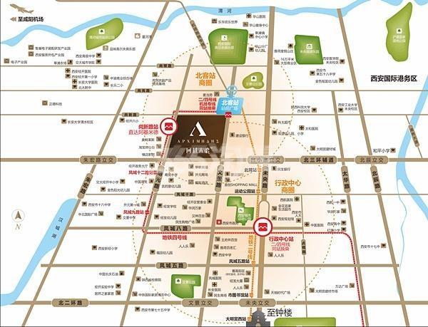 明丰阿基米德交通图