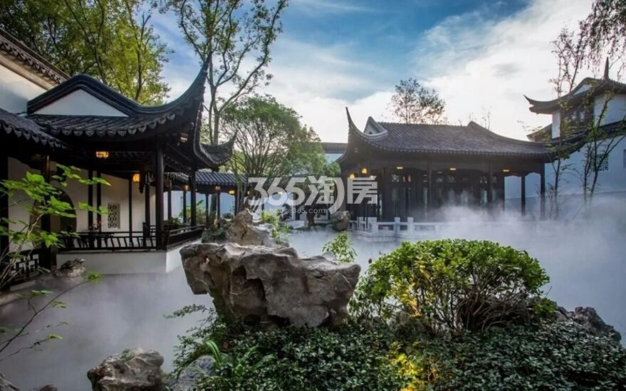 绿城南京桃花源示范区实景图(6.24)