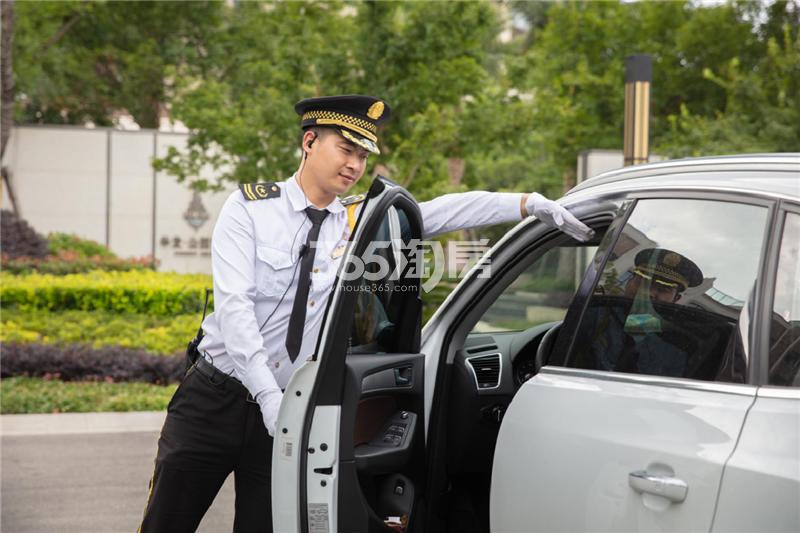 华发公园首府实景图