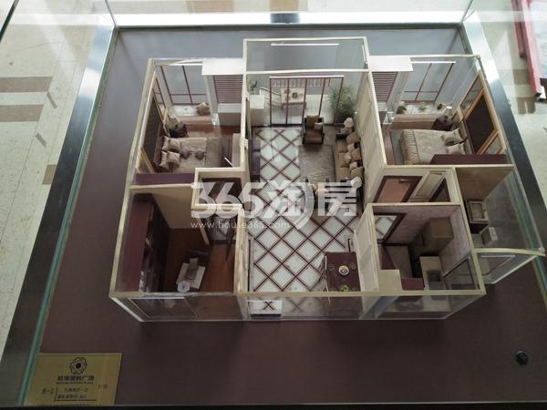 蚌埠国购广场 户型模型 201804