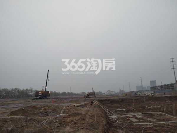 瑞泰城市广场 在建工程 201804