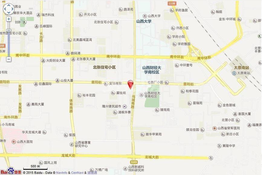 上林轩交通图