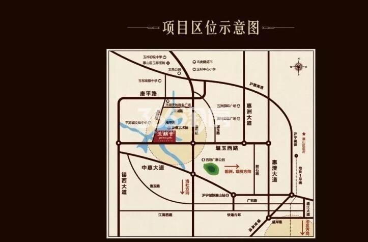 玉麒会交通图