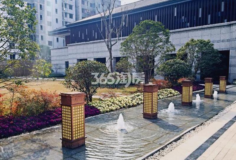 中建昆明澜庭售楼部实景图(2018.2.4)