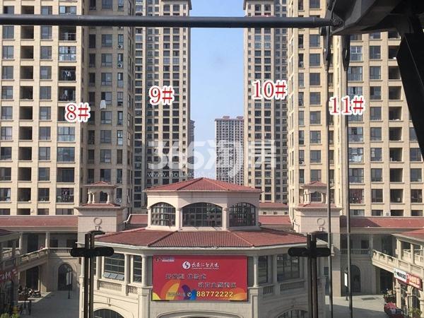 长泰国际社区南地块高层8-11#楼实景图(2018.4 摄)