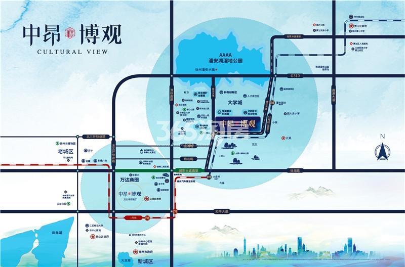 中昂博观交通图