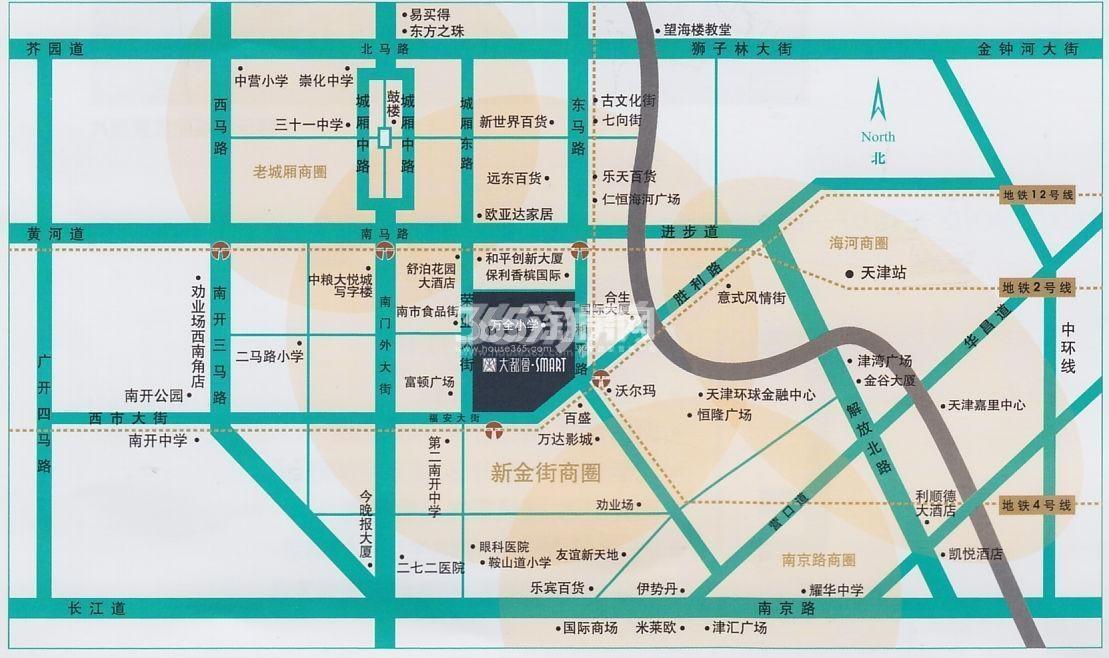 大都会SMART交通图
