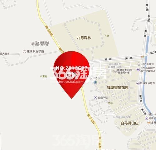 金隅江浦G07地块交通图