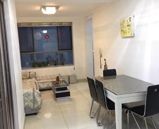 滨湖世纪城琼林苑公寓2室2厅1卫77.09平米整租中装