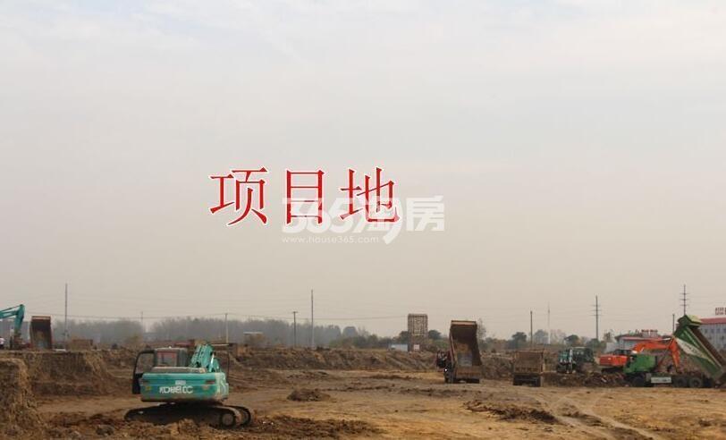 安建翰林天筑项目实景图(2018.2.8)