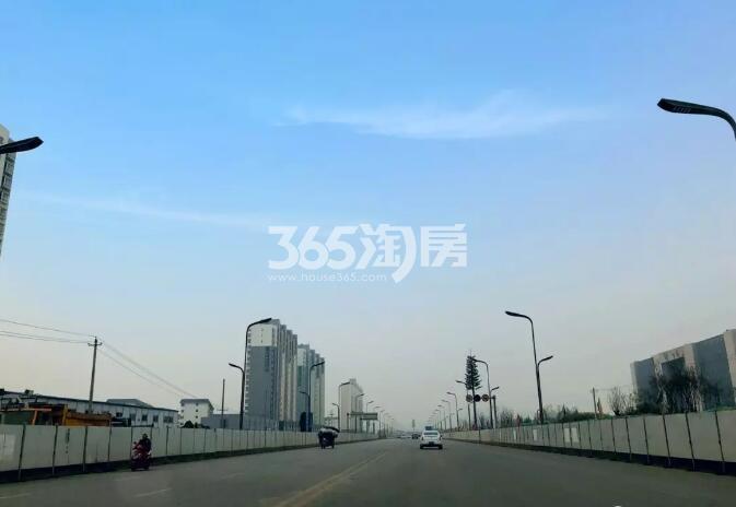 万科大都会周边道路图(2019.10.29)