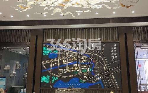 时代城售楼处实景(2019.10.29摄)
