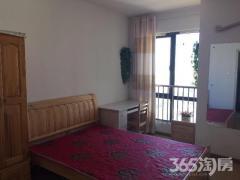 高新区合家福旁优活公寓精装两室朝南 两台空调 家具