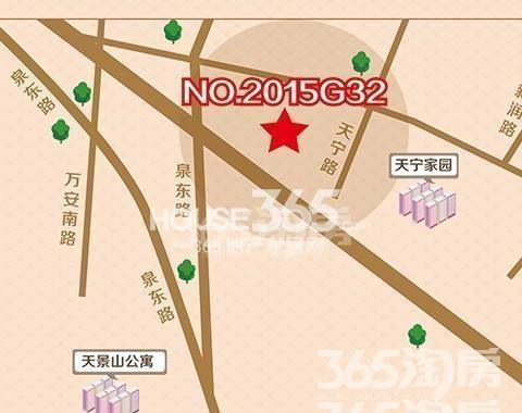 南京上坊片区地图